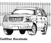 Coloriage et dessins gratuit 4 X 4 Cadillac Escalade à imprimer