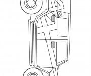 Coloriage et dessins gratuit 4 X 4 Hummer à imprimer