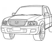 Coloriage et dessins gratuit 4 X 4 Mazda à imprimer