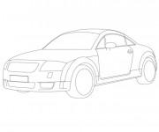 Coloriage et dessins gratuit Audi à colorier à imprimer