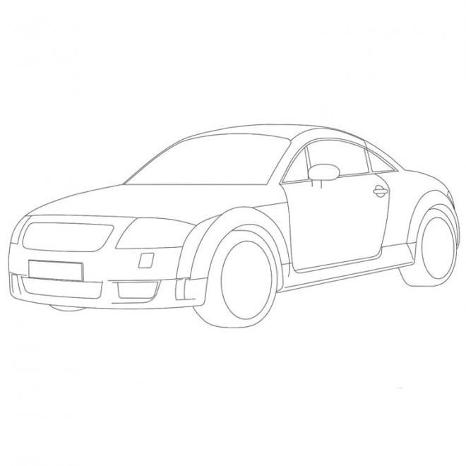 Coloriage et dessins gratuits Audi à colorier à imprimer