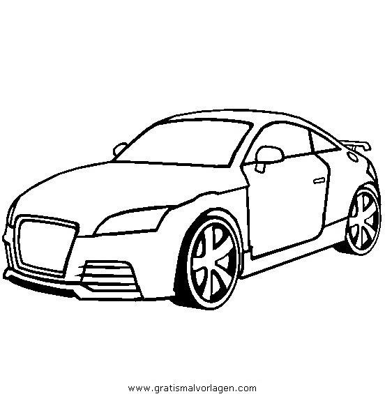 Coloriage et dessins gratuits Audi Coccinelle à imprimer