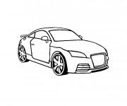 Coloriage et dessins gratuit Audi couleur à imprimer