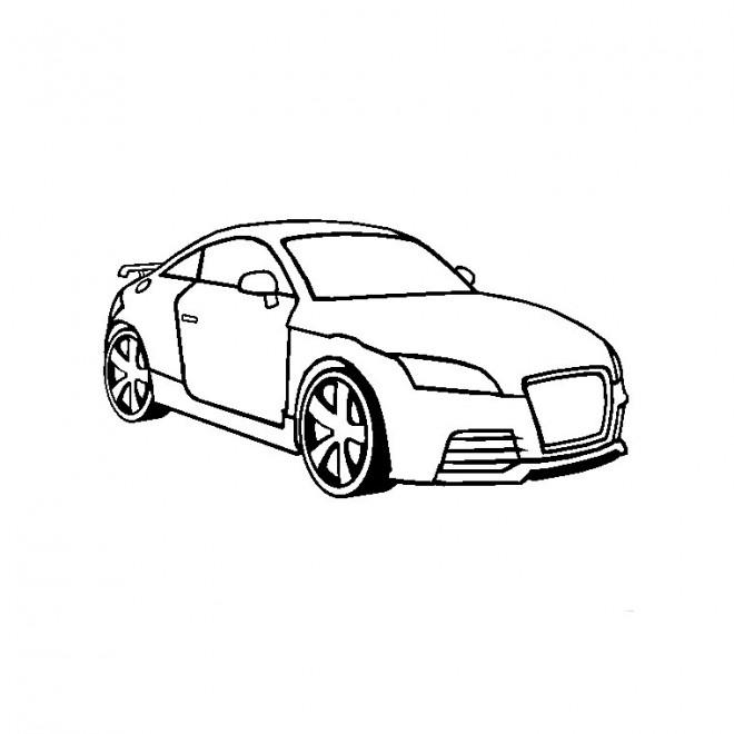 Coloriage et dessins gratuits Audi couleur à imprimer