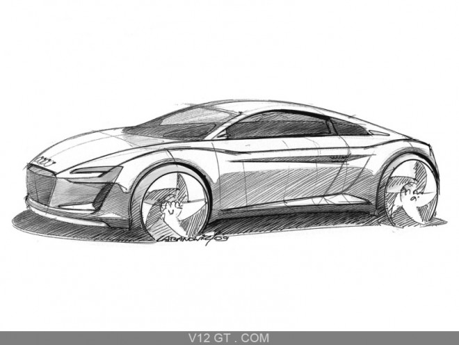 Coloriage et dessins gratuits Audi de Sport R10 à imprimer