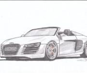 Coloriage et dessins gratuit Audi décapotable à imprimer