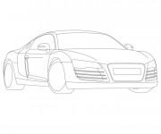 Coloriage et dessins gratuit Audi maternelle à imprimer