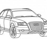 Coloriage et dessins gratuit Audi Q7 à imprimer