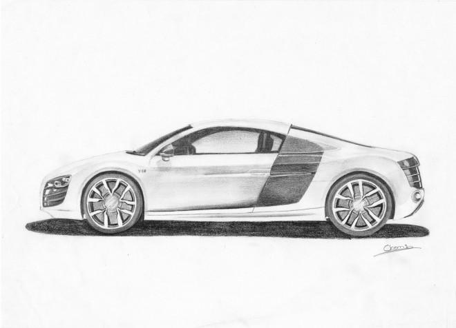 Coloriage et dessins gratuits Audi R9 à imprimer