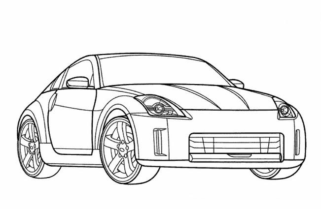 Coloriage et dessins gratuits Audi sport en ligne à imprimer