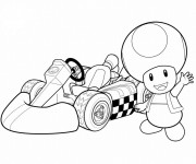 Coloriage Auto de course 14