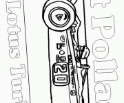 Coloriage Auto de course 23