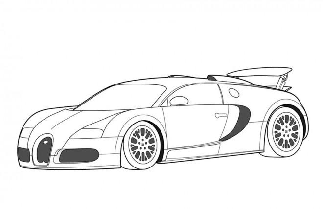 Coloriage et dessins gratuits Auto de course Maybach à imprimer