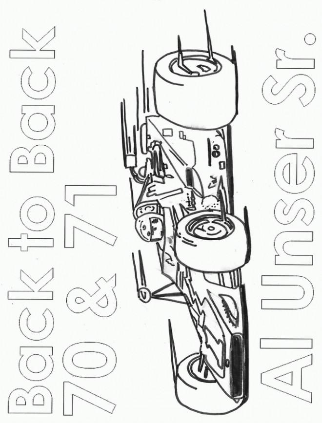 Coloriage et dessins gratuits Auto de course Wallpapers à imprimer