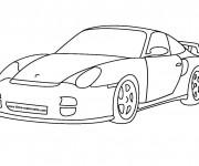 Coloriage et dessins gratuit Auto de Luxe à imprimer