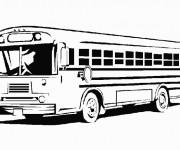 Coloriage Autobus 6