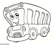 Coloriage Autobus 9