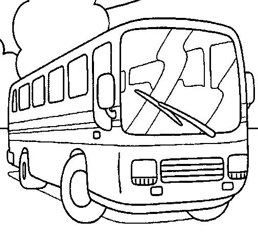 Coloriage et dessins gratuits Autobus à colorier à imprimer