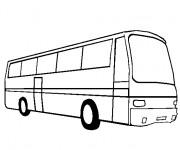 Coloriage et dessins gratuit Autobus ratp à imprimer