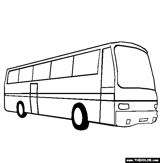 Coloriage et dessins gratuits Autobus ratp à imprimer