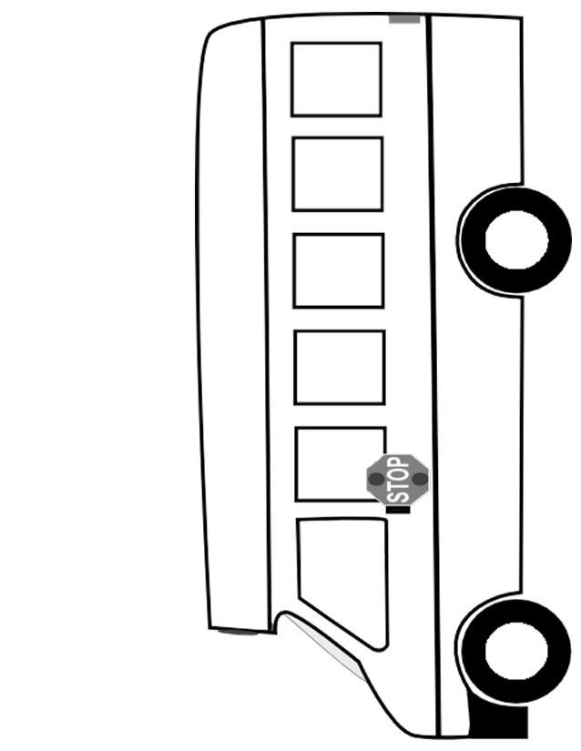 Coloriage et dessins gratuits Autobus simple à imprimer