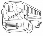 Coloriage Autobus 25