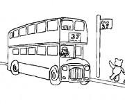 Coloriage et dessins gratuit Autobus pour enfant à imprimer