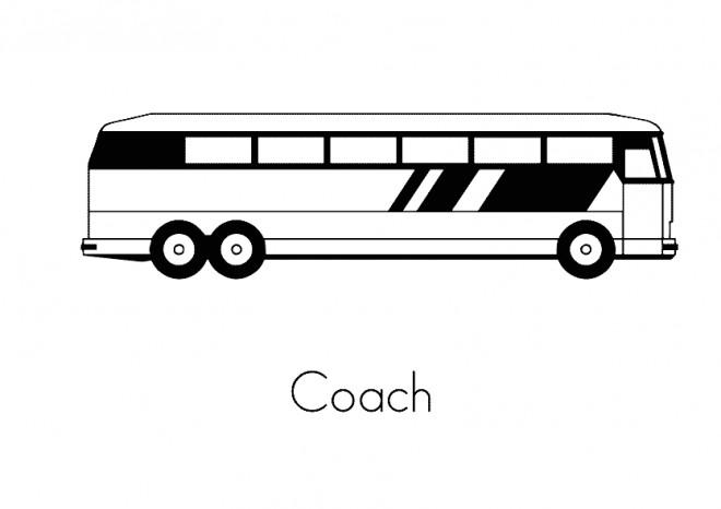 Coloriage et dessins gratuits Autobus pour transport publique à imprimer