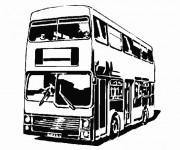 Coloriage et dessins gratuit Autocar à télécharger à imprimer