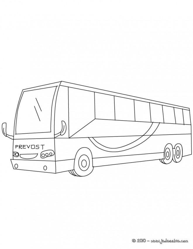 Coloriage et dessins gratuits Bus stylisé à imprimer