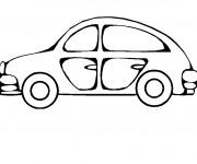 Coloriage Automobile 1