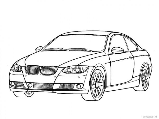 Coloriage et dessins gratuits Automobile BMW couleur à imprimer