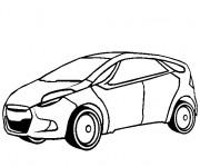 Coloriage et dessins gratuit Automobile économique à imprimer