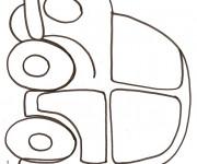 Coloriage et dessins gratuit Automobile facile au crayon à imprimer