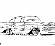 Coloriage Automobile Ramone Disney