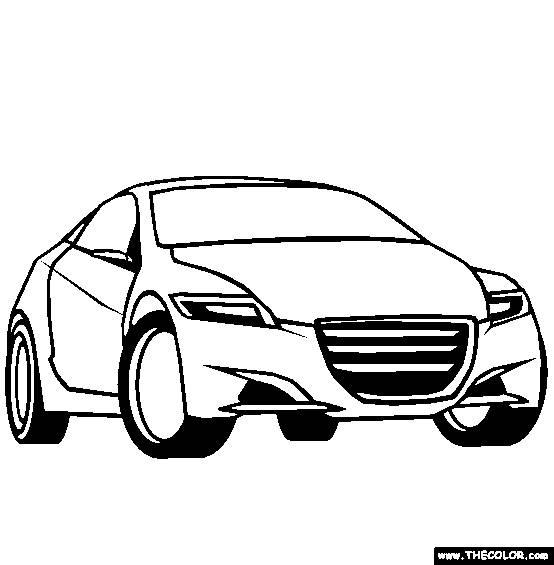 Coloriage et dessins gratuits Dessin voiture Cars à imprimer