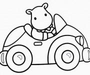 Coloriage et dessins gratuit Jouet Automobile pour enfant à imprimer