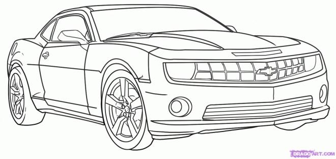 Coloriage une voiture de luxe colorier dessin gratuit - Dessin a colorier de voiture ...