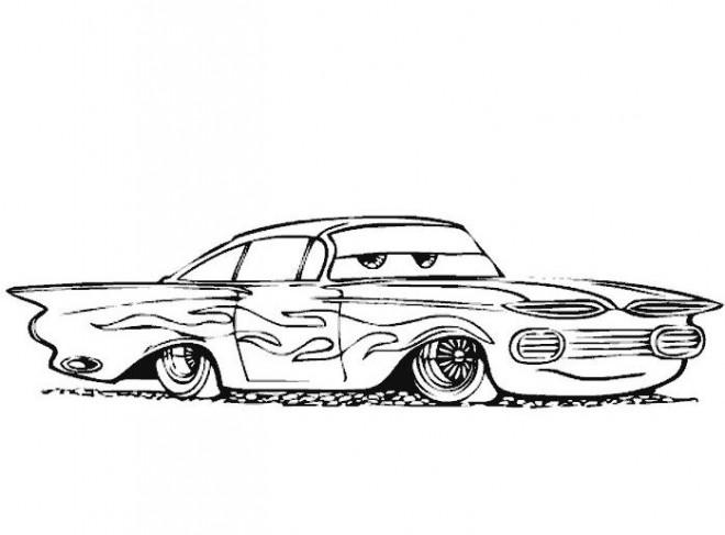 Coloriage et dessins gratuits Auto pour enfant à imprimer