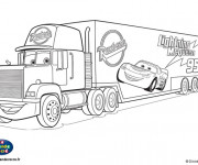 Coloriage Camion Mack Disney