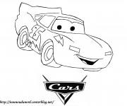 Coloriage et dessins gratuit Logo cars Flash à imprimer