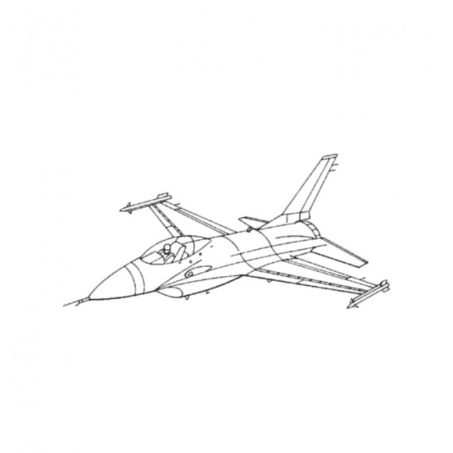 Coloriage Avion De Voltige.Dessin Avion Stylise Fashionsneakers Club
