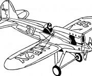 Coloriage Avion de Chasse NR2Y