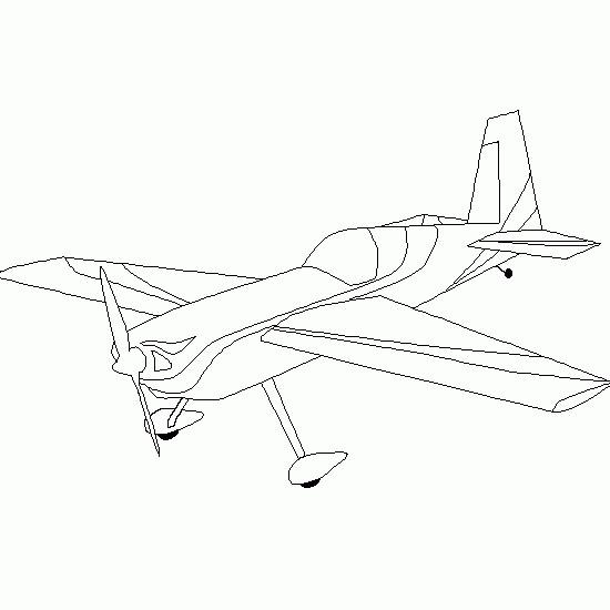 Coloriage et dessins gratuits Petit Avion de guerre à imprimer