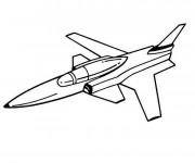 Coloriage Avion de chasse française