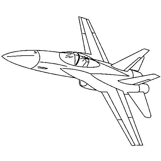 Coloriage et dessins gratuits Avion de guerre à colorier à imprimer