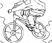 Coloriage Bicyclette