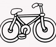 Coloriage Bicyclette 16