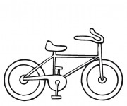 Coloriage Bicyclette 6