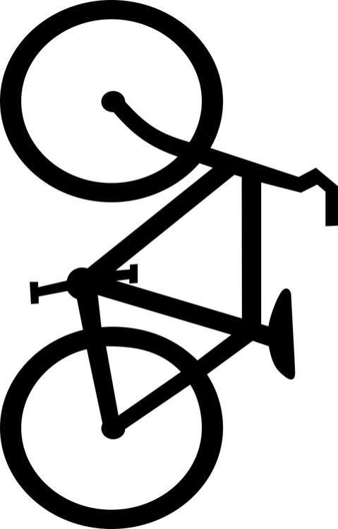 Coloriage et dessins gratuits Bicyclette maternelle à imprimer